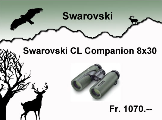 Swarovski cl companion 8x30 jul16